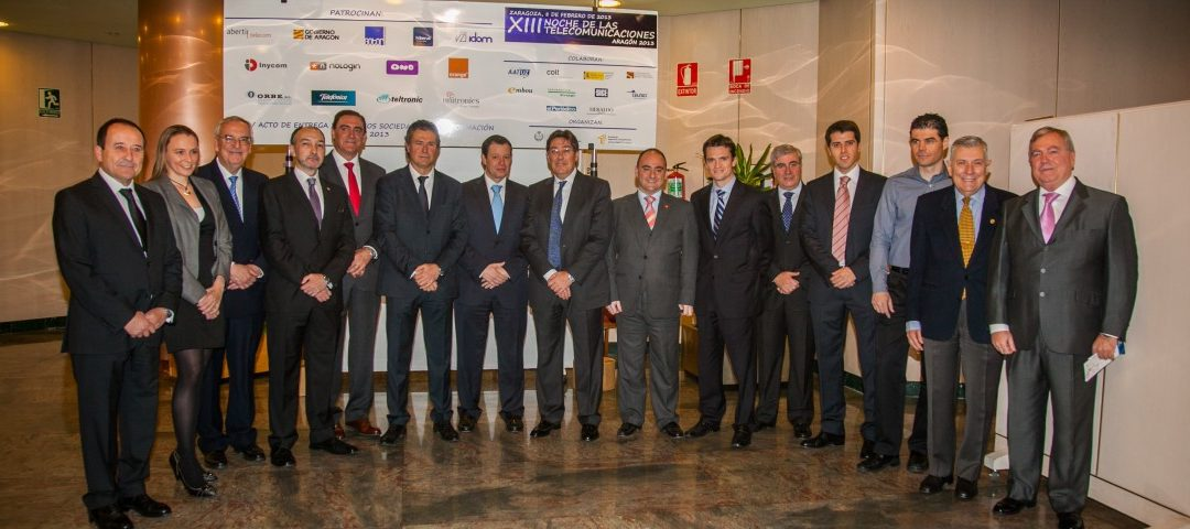 Patrocinadores de la XIII edición de La noche de las Telecomunicaciones