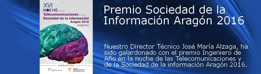 Premio Ingeniero del año en la noche de las Telecomunicaciones 2016