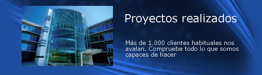 Proyectos telecomunicaciones realizados