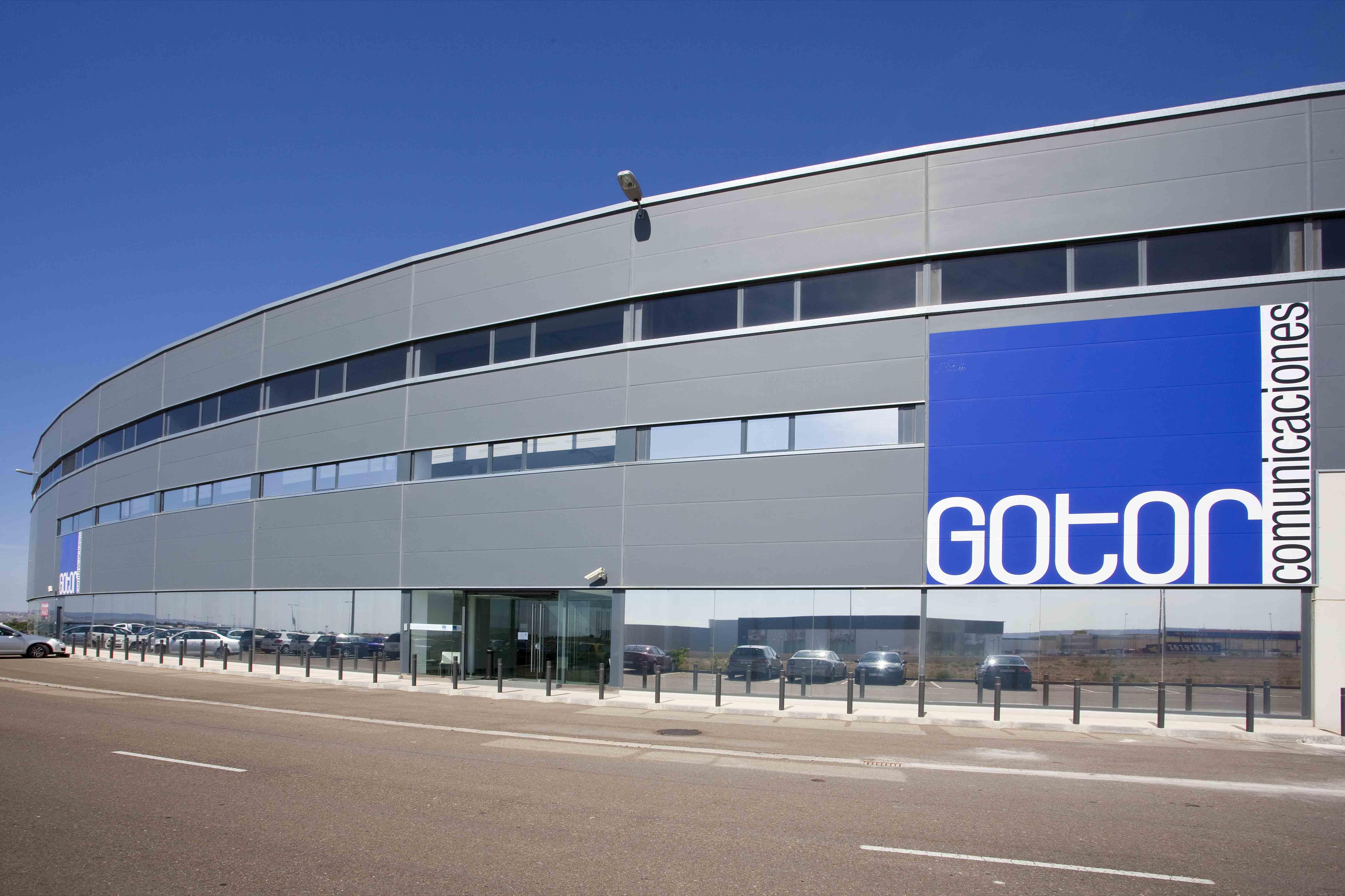 oficinas de gotor comunicaciones en Zaragoza