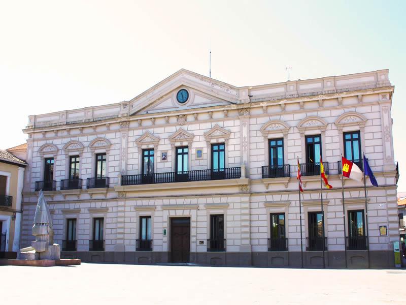 Infraestructura WIMAX Ayuntamiento Alcazar de San Juan