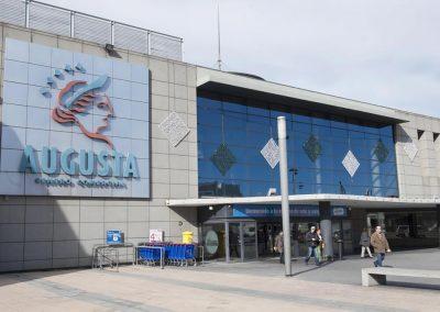 Infraestructura de banda ancha en el Centro Comercial Augusta de Zaragoza