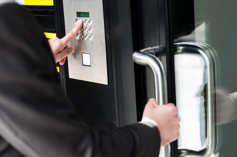 Control de accesos inalámbrico para entornos desatendidos