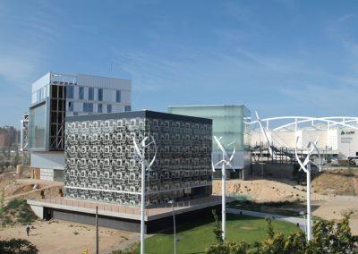 Señalización Digital, Cartelería digital – Edificio de Emisiones Cero en Zaragoza