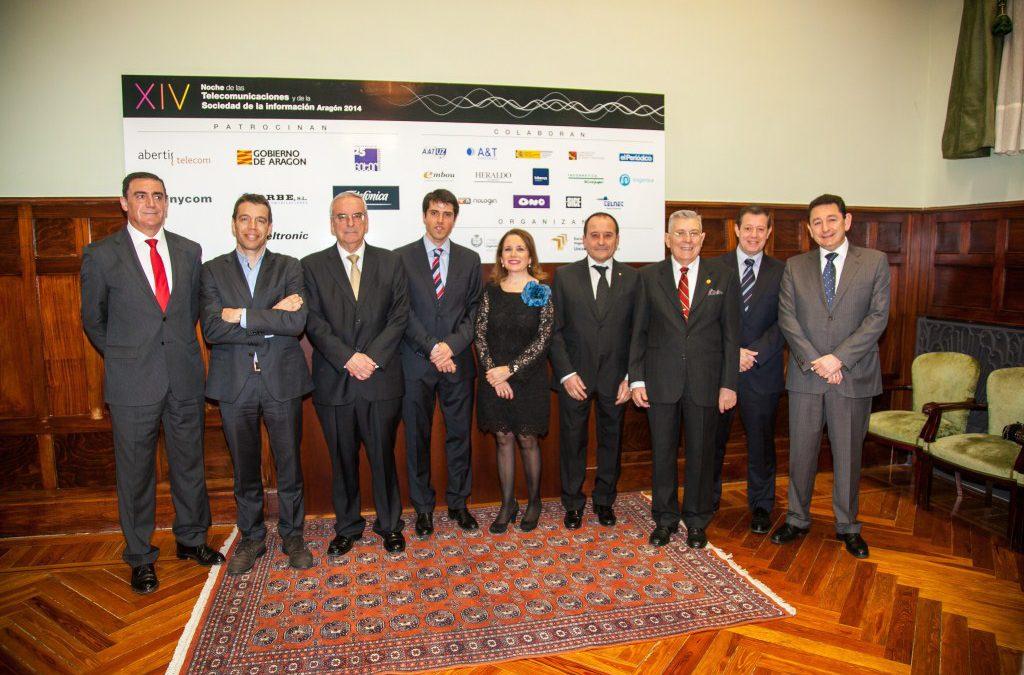 Noche de las telecomunicaciones de Aragón 2014