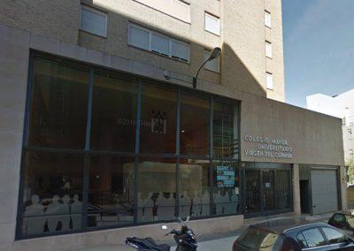 Control de accesos en entorno desatendido en Colegio Mayor Virgen del Carmen