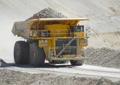 Control de accesos de vehículos para empresa minera