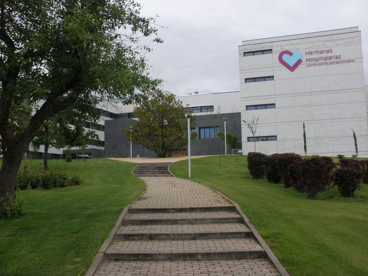 seguridad y localización de trabajadores en un hospital de Valladolid