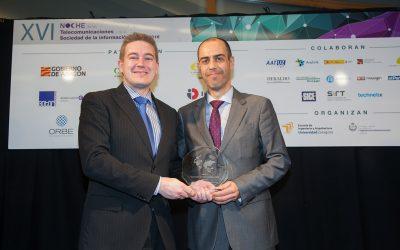José María Alzaga – Premio Ingeniero de Telecomunicaciones 2016 en Aragón